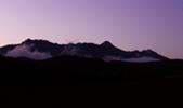 冬の戸隠山